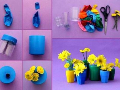 Creative Recycling of Common Household Items