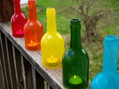 5 Creative Ways to Upcycle Wine Bottles